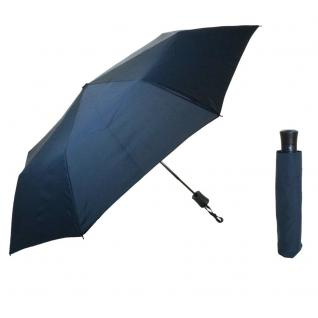 Flash MINI AC Flash solid Marineblau Regenschirm Taschenschirm