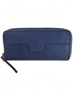 Esprit Damen Geldbörse Portemonnaies Ivy zip Blau