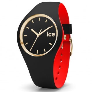 Ice-Watch 007225 Ice loulou black gold small Uhr Damenuhr schwarz