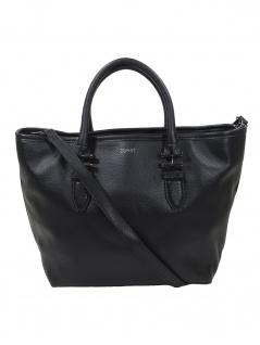 Esprit Damen Handtasche Tasche Henkeltasche Nina City Bag Schwarz