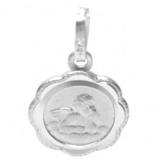 Basic Silber STG03 Kinder Anhänger Schutzengel Silber