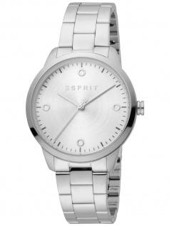 Esprit ES1L164M0035 Minimal Silver Uhr Damenuhr Edelstahl silber