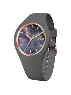 Ice-Watch 016937 ICE pearl grey small Uhr Damenuhr Kautschuk Grau