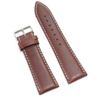 Condor Uhrenband 19615-24-20 Ersatzarmband 24 mm Sattelleder braun