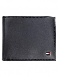 Tommy Hilfiger Kreditkartenetui Eton Mini CC Wallet Leder Schwarz