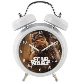 """RHYTHM STAR536 Kinderwecker STAR WARS """" Chewbacca"""" Uhr Alarm mehrfarbig"""