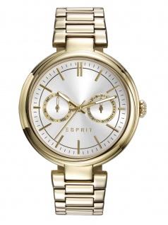 Esprit ES109512004 Uhr Damenuhr Edelstahl Datum Gold