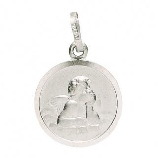 Basic Silber 22.228 Kinder Anhänger Schutzengel Silber - Vorschau 1
