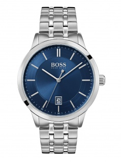Hugo Boss 1513615 OFFCR Uhr Herrenuhr Edelstahl Silber