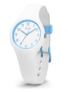 Ice-Watch 015348 ICE Ola Kids Cotton white Extra small Uhr Weiß