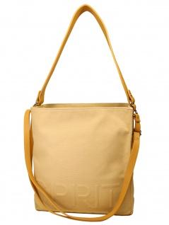 Esprit Damen Handtasche Tasche Drew Hobo shoulderbag Beige 050EA1O309
