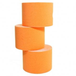 4 Rollen Kinesiologie-Tape 5 m x 5, 0 cm orange (EUR 0, 69 / m)