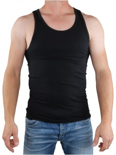 Calvin Klein Herren T-Shirt Ärmellos 2er Pack Tank NB1099A Schwarz XL