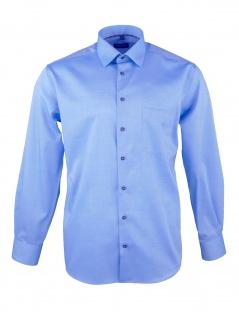 Eterna Herren Hemd Langarm Comfort Fit XXXL/47 Blau 8100/12/E18E
