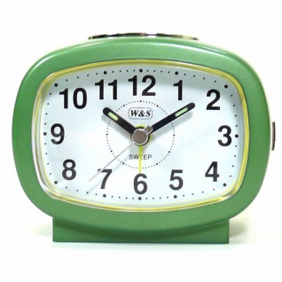 W&S Wecker 201355-grün leise Sekunde