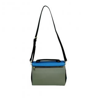 Desigual Bols Roma Tricolor Blau Grün 17WAXPFR-5011 Handtasche Tasche - Vorschau 5