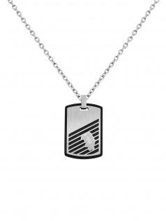 POLICE PJ.26464PSS/01 Herren Collier BURREN Silber 70 cm