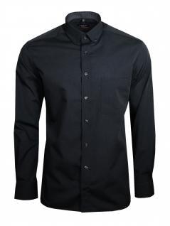 Eterna Herren Hemd Langarm Modern Fit Hemden 3070/38/X143 Grau XL/44