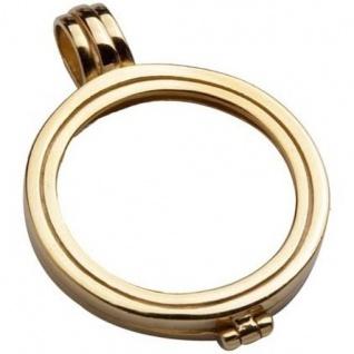 Quoins QHO-05S-G Rahmen Medaillon small gold