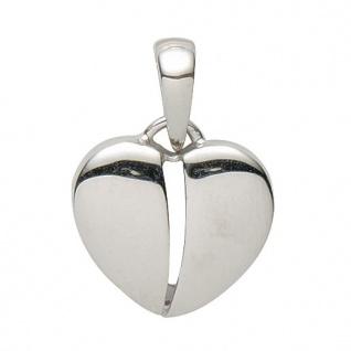 Basic Silber 21.0024S Damen Anhänger Herz Silber