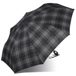 Esprit Gents Mini Tecmatic 50354 Regenschirm Taschenschirm Schwarz