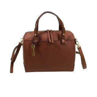 Fossil Rachel Satchel Braun Damen Handtasche Schultertasche Tasche