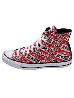 Converse Herren Schuhe CTAS Hi Mehrfarbig Leinen Sneakers 44.5 EU