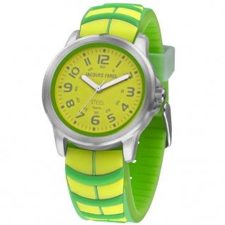 JACQUES FAREL SBR838 Uhr Junge Kinderuhr Silikon grün