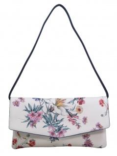 Esprit Damen Handtasche Clutch Fay Baguette Bag Weiß