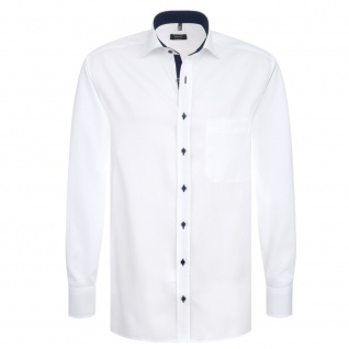 Eterna Herrenhemd Langarm Comfort Fit Weiß Gr. XXXL/47 8100/00/E137