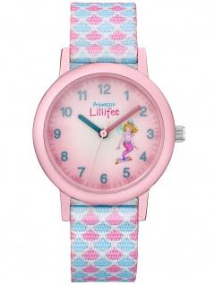 Prinzessin Lillifee 2031755 Schuppen Uhr Mädchen Kinderuhr Stoffband