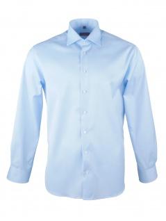 Eterna Herren Hemd Langarm Modern Fit XL/43 Blau 8817/10//X18K