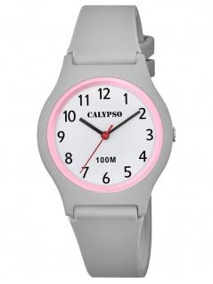 Calypso K5798/5 Uhr Mädchen Kinderuhr Kunststoff grau