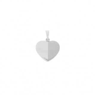 Basic Silber SH19 Damen Anhänger Herz Silber