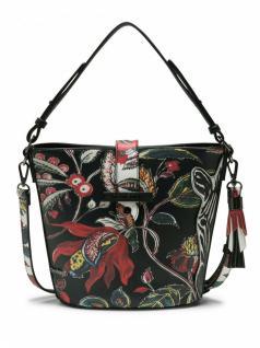 Desigual Handtasche Tasche UNEXPECTED CARACAS Schwarz 18SAXPHZ-2000