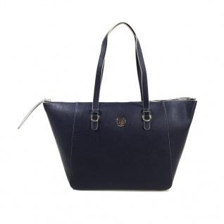 Tommy Hilfiger TH Core Tote Logo Blau AW0AW04145 Handtasche Tasche