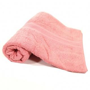 Saunatuch Rosa Frottee Baumwolle 500gm2 Handtuch 80 X 200 Cm