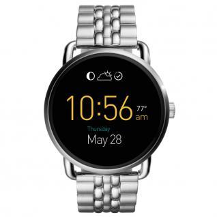 FOSSIL Q FTW2111 Fossil Q WANDER Smartwatch Uhr Datum Alarm silber