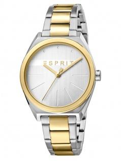 Esprit ES1L056M0075 Slice Uhr Damenuhr Edelstahl Bicolor