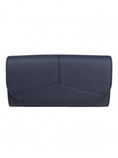 Esprit Damen Geldbörse Geldbeutel Portemonnaies Colby flat clutch Blau