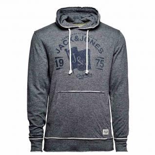 Jack & Jones Kapuzenpullover 12086879-1 VISION Sweat Hood Grau Gr. XL