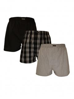 Calvin Klein Herren Boxershort 3er Pack Woven Boxer L Bunt U1732A-BMS