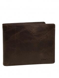 Fossil Herren Geldbörse DERRICK Passcase Leder Braun ML3771-201
