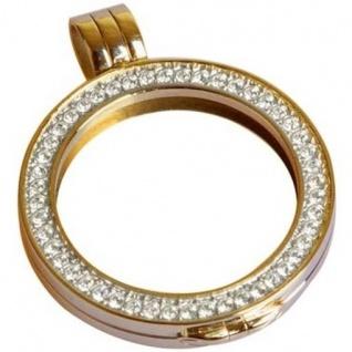 Quoins QHO-06S-G Rahmen Medaillon small gold