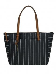 Fossil Damen Handtasche Tasche Shopper Rachel TZ Tote Schwarz