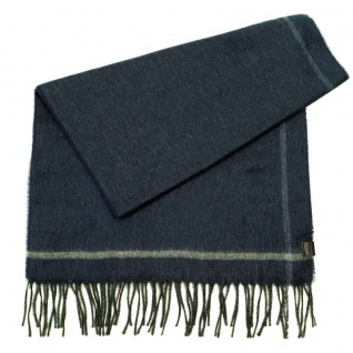 Esprit Schal Melange Scarf Blau 123EA2Q002-E411 Herrenschal 185 cm