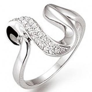 Basic Silber 53.EX436 Damen Ring Silber Gr.54 (17, 2)