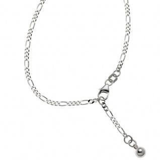 Basic Silber SFK05 Damen Fußkettchen Silber 25 cm