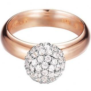 Esprit ESRG92309B Damen Ring glam sphere rose Silber rose 53 (16.9)