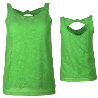 Vero Moda Damen Top Shirt Ärmellos HOLLY SL Top Grün Gr. XS